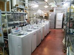 小型~大型冷蔵庫・洗濯機